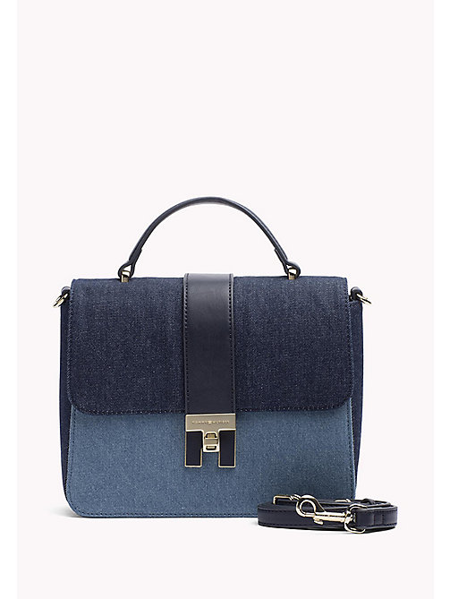 TOMMY HILFIGER Denim satchel - DENIM MIX - TOMMY HILFIGER Tassen & Accessoires - main image