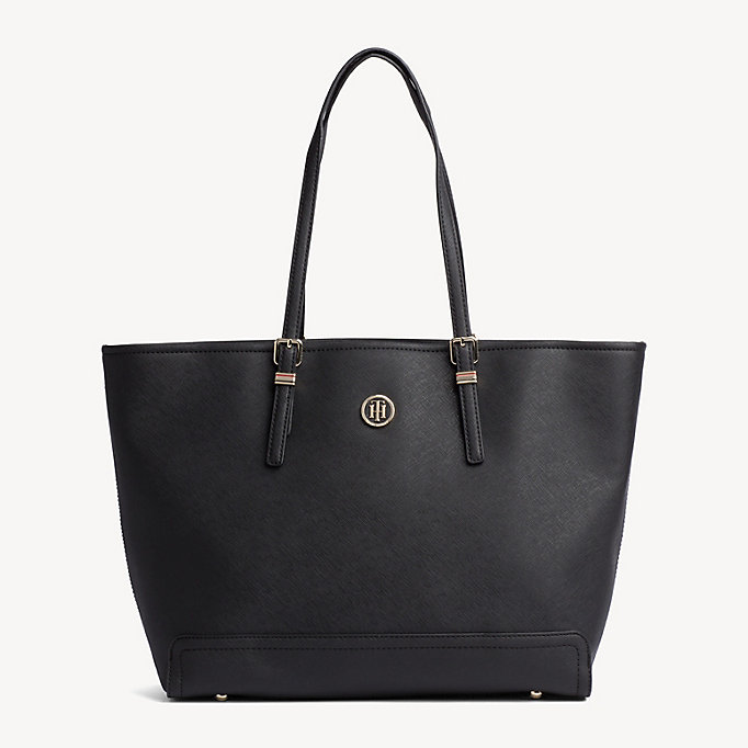 TOMMY HILFIGER Monogram Logo Tote - TOMMY NAVY - TOMMY HILFIGER Women - main image