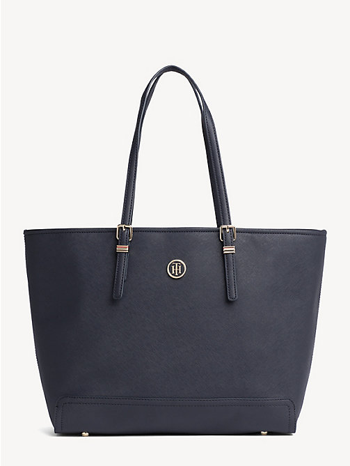 TOMMY HILFIGER Shopper met monogramlogo - TOMMY NAVY -  Shoppers - main image