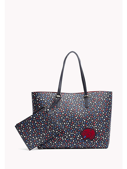 TOMMY HILFIGER Tote Bag - STAR PRINT/ TOMMY RED - TOMMY HILFIGER Women - main image