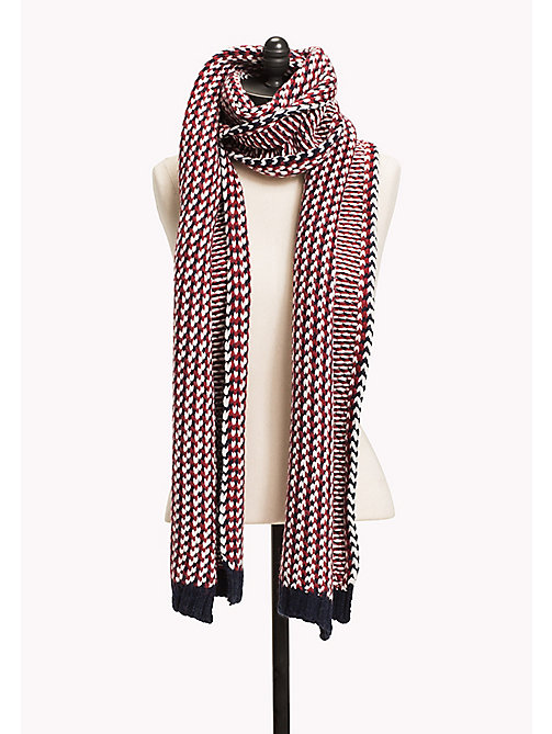 TOMMY JEANS Wool Blend Scarf - CORPORATE CLRS - TOMMY JEANS Bags & Accessories - main image