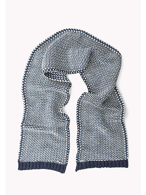TOMMY JEANS Wool Blend Scarf - BLUE MIX - TOMMY JEANS Bags & Accessories - detail image 1