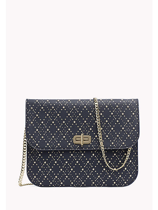 TOMMY HILFIGER Argyle Stud Crossover Pouch - TOMMY NAVY - TOMMY HILFIGER Bags & Accessories - main image