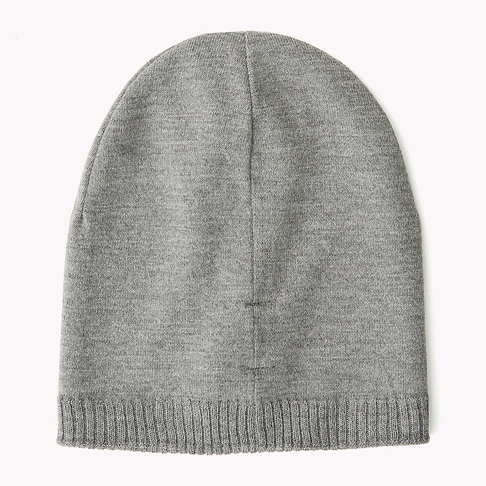 TOMMY JEANS Knit Beanie - TOMMY NAVY - TOMMY JEANS Women - detail image 1