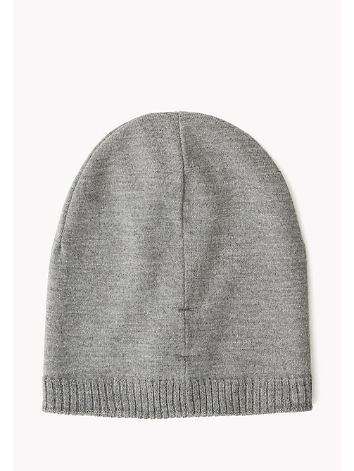 TOMMY JEANS Knit Beanie - GREY MELANGE? GREY MELANGE - TOMMY JEANS Bags & Accessories - detail image 1