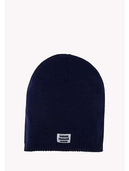 TOMMY JEANS Knit Beanie - TOMMY NAVY - TOMMY JEANS Bags & Accessories - main image