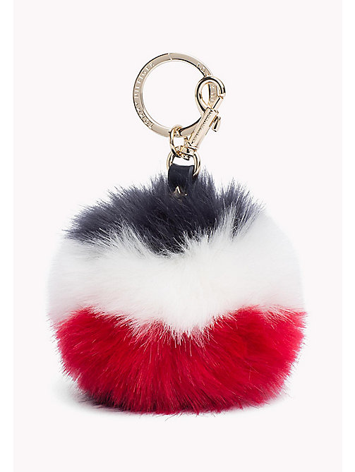 TOMMY HILFIGER Furball Keyfob - CORPORATE - TOMMY HILFIGER Wallets & Keyrings - main image
