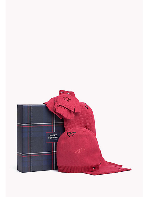 TOMMY HILFIGER Newborn Girl Accessories Gift Pack - RAPTURE ROSE - TOMMY HILFIGER Girls - main image