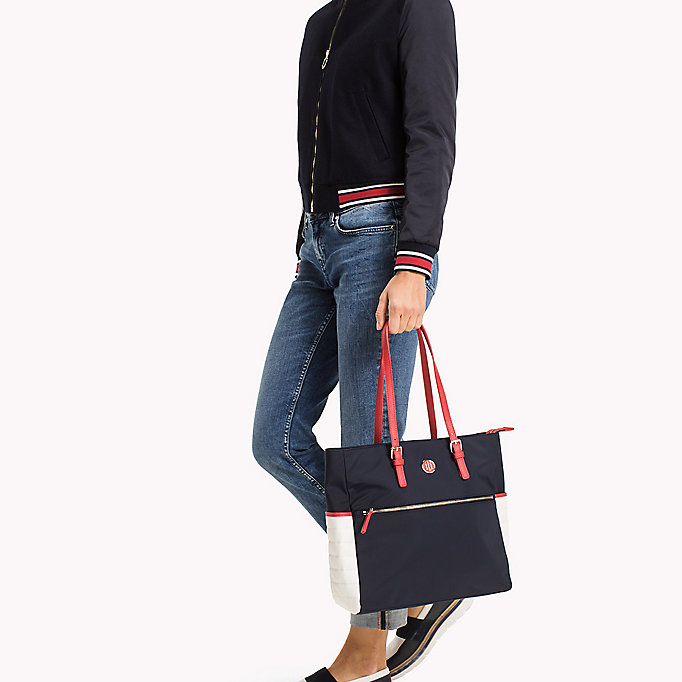 TOMMY HILFIGER Tote Bag - BLACK - TOMMY HILFIGER Bags & Accessories - detail image 3