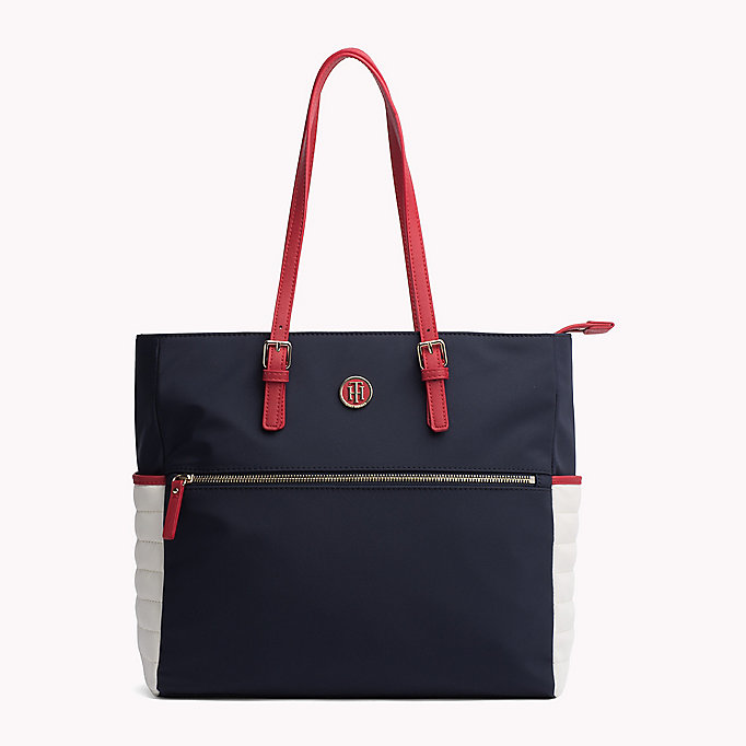 TOMMY HILFIGER Tote Bag - BLACK - TOMMY HILFIGER Bags & Accessories - main image