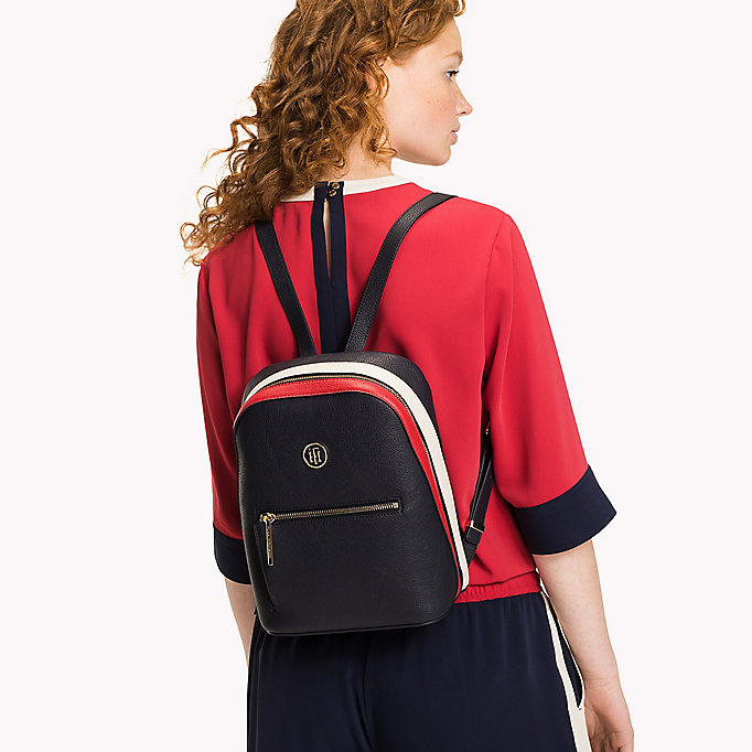 TOMMY HILFIGER Mini Backpack - BLACK - TOMMY HILFIGER Women - detail image 3