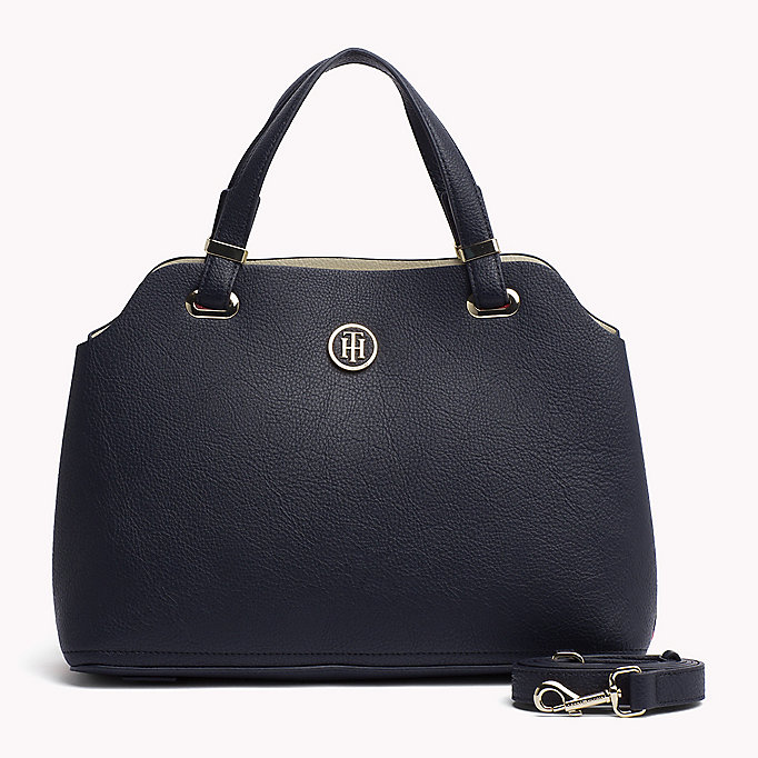 TOMMY HILFIGER Satchel - BLACK - TOMMY HILFIGER Women - main image