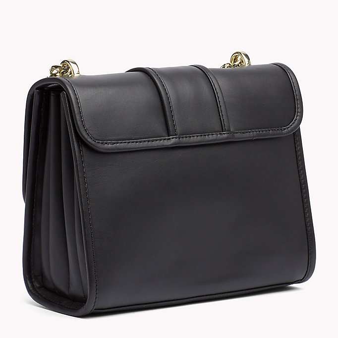 TOMMY HILFIGER Buckle Leather Crossover Bag - HEATHER MIX - TOMMY HILFIGER Women - detail image 1