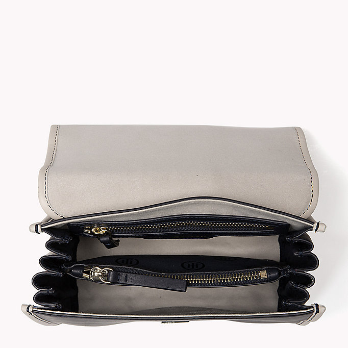 TOMMY HILFIGER Buckle Leather Crossover Bag - BLACK - TOMMY HILFIGER Women - detail image 2