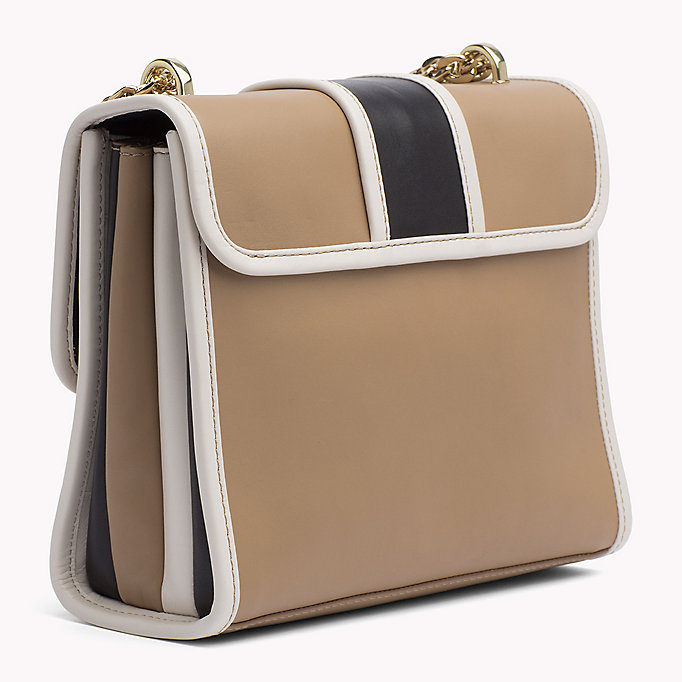 TOMMY HILFIGER Buckle Leather Crossover Bag - CORP MIX - TOMMY HILFIGER Women - detail image 1