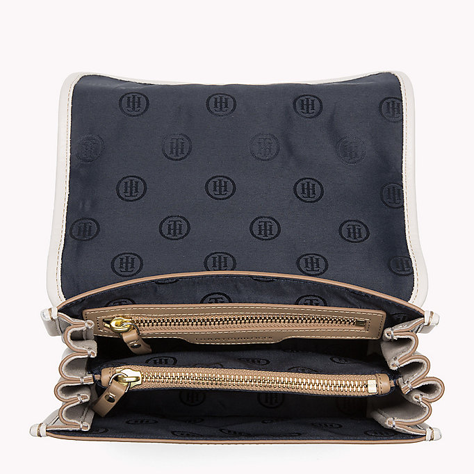 TOMMY HILFIGER Buckle Leather Crossover Bag - CORP MIX - TOMMY HILFIGER Women - detail image 2