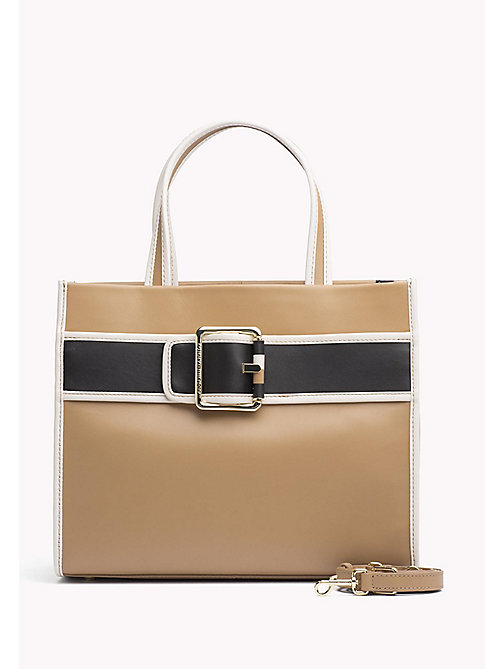 TOMMY HILFIGER Sac tote en cuir - TANNIN MIX - TOMMY HILFIGER Tote Bags - image principale