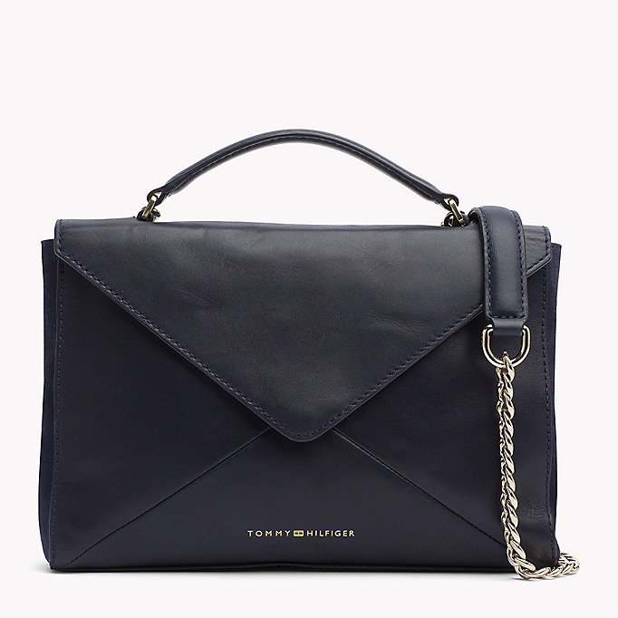 TOMMY HILFIGER Leather Clutch Crossover - COLOUR MIX - TOMMY HILFIGER Women - main image
