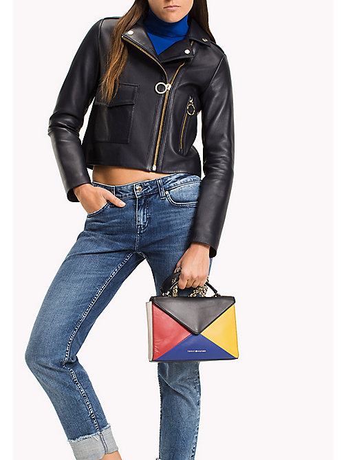TOMMY HILFIGER Leather Clutch Crossover - COLOUR MIX - TOMMY HILFIGER Bags - detail image 1