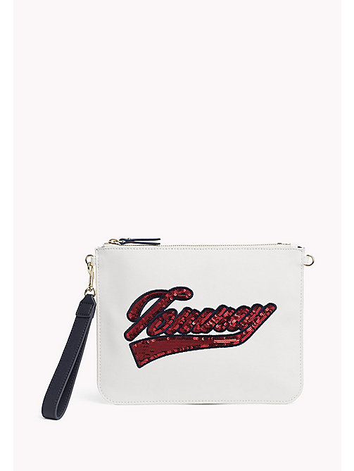 TOMMY HILFIGER Mix 'n' Match Canvas Clutch - SNOW WHITE - TOMMY HILFIGER Gifts for Her - main image