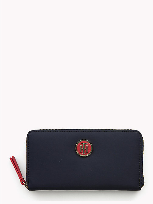 TOMMY HILFIGER Large Zip-Around Wallet - CORP CB - TOMMY HILFIGER Women - main image