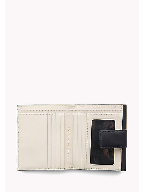 TOMMY HILFIGER Leather Trifold Flap Wallet - TOMMY NAVY - TOMMY HILFIGER Wallets & Keyrings - detail image 1