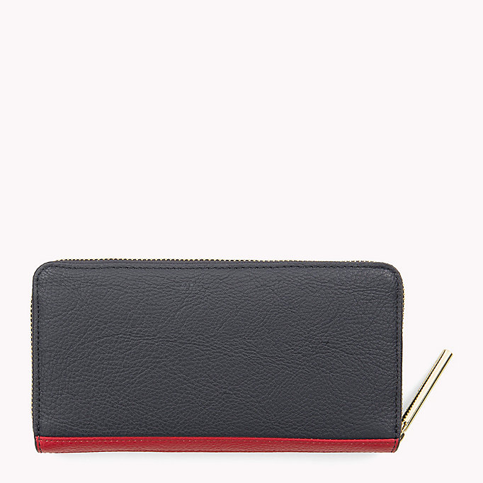 TOMMY HILFIGER Large Zip-Around Wallet - HEATHER MIX - TOMMY HILFIGER Women - detail image 1