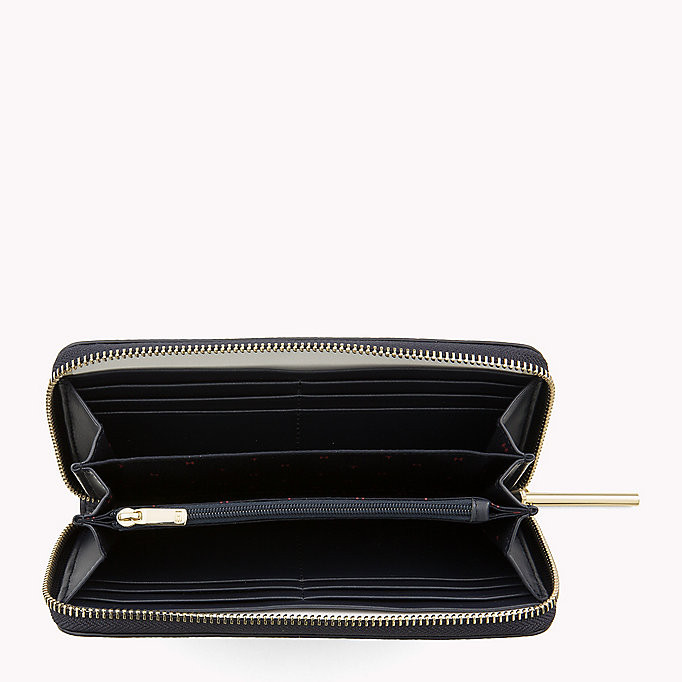 TOMMY HILFIGER Large Zip-Around Wallet - HEATHER MIX - TOMMY HILFIGER Women - detail image 2