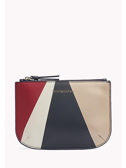 TOMMY HILFIGER Metallic Pouch - GEO METALLIC - TOMMY HILFIGER Wallets & Keyrings - main image
