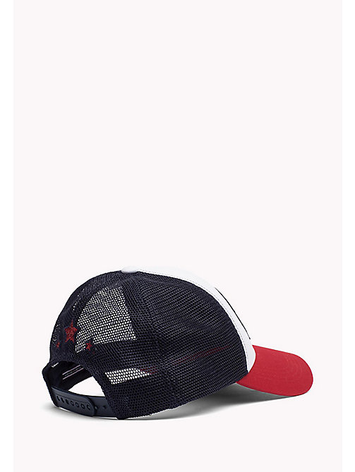 TOMMY HILFIGER Metallic Logo Baseball Cap - CORPORATE & MESH - TOMMY HILFIGER Hats, Gloves & Scarves - detail image 1