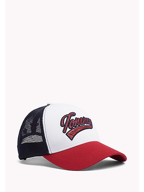 TOMMY HILFIGER Metallic Logo Baseball Cap - CORPORATE & MESH - TOMMY HILFIGER Hats, Gloves & Scarves - main image