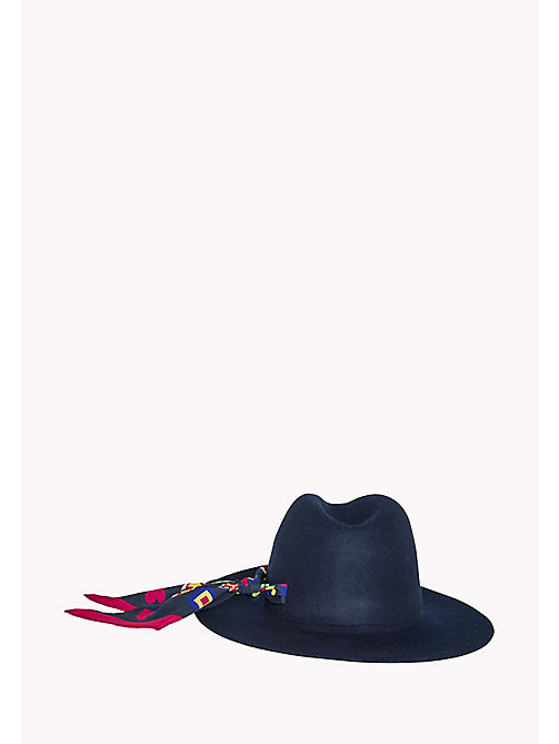 TOMMY HILFIGER Felt Fedora - SKY CAPTAIN - TOMMY HILFIGER Hats, Gloves & Scarves - detail image 1