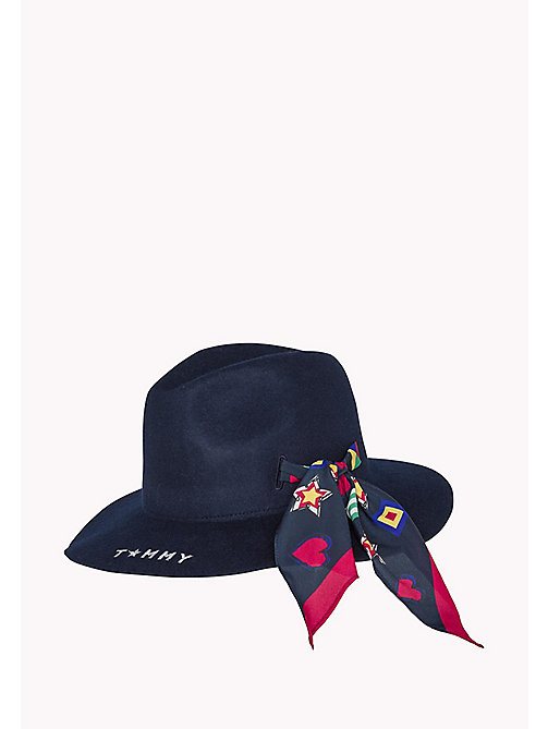 Felt Fedora - SKY CAPTAIN - TOMMY HILFIGER Bags & Accessories - main image