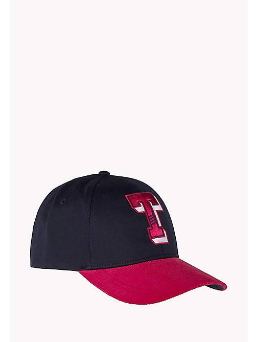 TOMMY JEANS Varsity Baseball Cap - CORPORATE - TOMMY JEANS Hats, Gloves & Scarves - main image