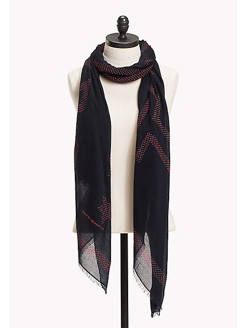 Race Mascot Square Scarf - Sales Up to -50% Tommy Hilfiger