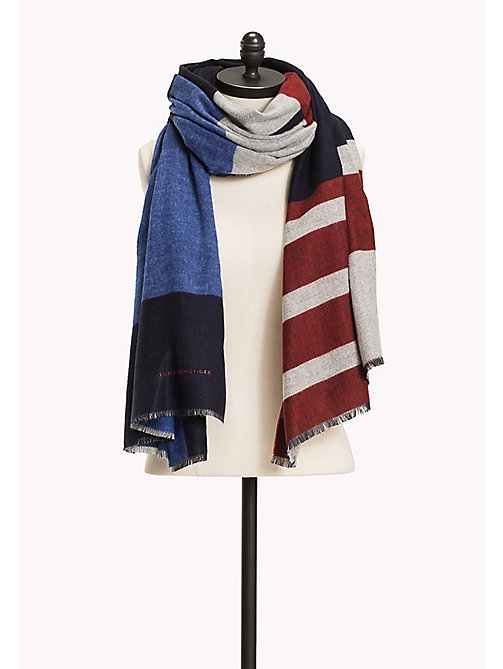 TOMMY HILFIGER Block Scarf - CORPORATE - TOMMY HILFIGER Hats, Gloves & Scarves - main image