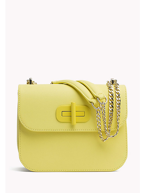 TOMMY HILFIGER Turn-Lock Crossover Bag - SUNSHINE - TOMMY HILFIGER Crossbody Bags - main image