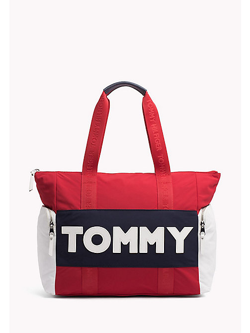 TOMMY HILFIGER Logo Tote Bag - CORPORATE CB - TOMMY HILFIGER Tote Bags - main image