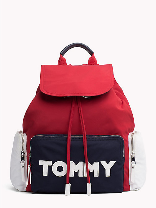 TOMMY HILFIGER Logo Drawstring Backpack - CORPORATE CB - TOMMY HILFIGER Backpacks - main image