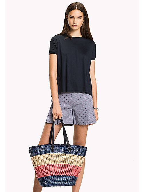 TOMMY HILFIGER Tote-Bag aus Stroh - CORPORATE CB - TOMMY HILFIGER Bags & Accessories - main image 1