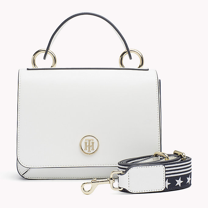 TOMMY HILFIGER Flap Cross Body Bag - TOMMY NAVY - TOMMY HILFIGER Bags & Accessories - main image