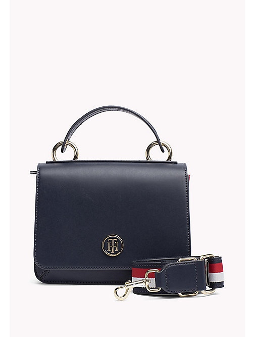 TOMMY HILFIGER Flap Cross Body Bag - TOMMY NAVY - TOMMY HILFIGER Crossbody Bags - main image