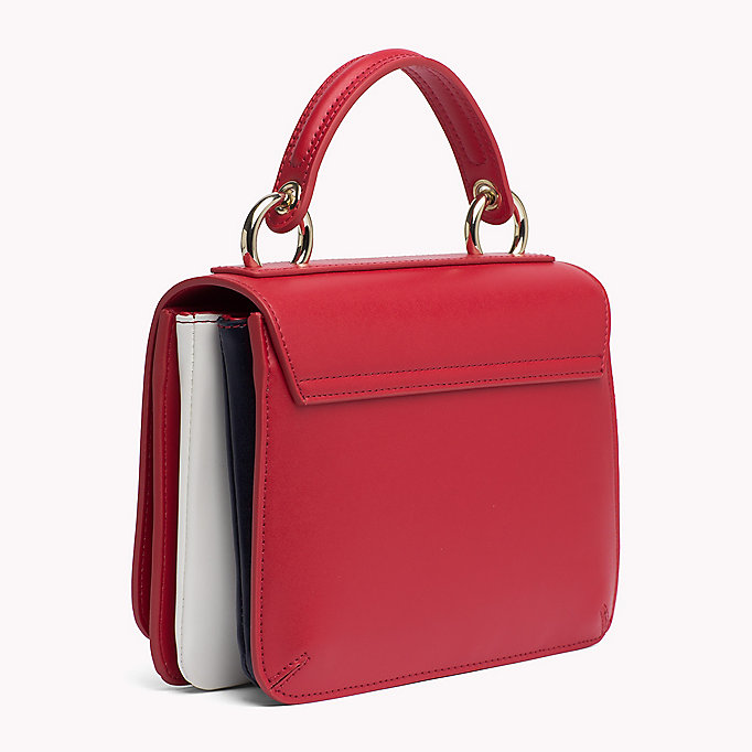TOMMY HILFIGER Flap Cross Body Bag - BRIGHT WHITE - TOMMY HILFIGER Bags & Accessories - detail image 1