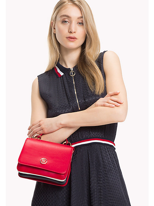 TOMMY HILFIGER Flap Cross Body Bag - TOMMY RED - TOMMY HILFIGER Bolsos Bandolera - imagen detallada 1
