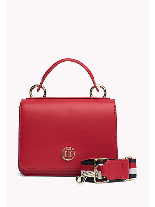 TOMMY HILFIGER Flap Cross Body Bag - TOMMY RED - TOMMY HILFIGER Crossover Bags - main image
