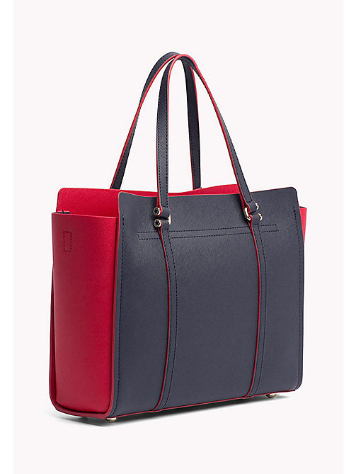 TOMMY HILFIGER Modern Tote Bag - TOMMY NAVY/ TOMMY RED - TOMMY HILFIGER NEW IN - detail image 1