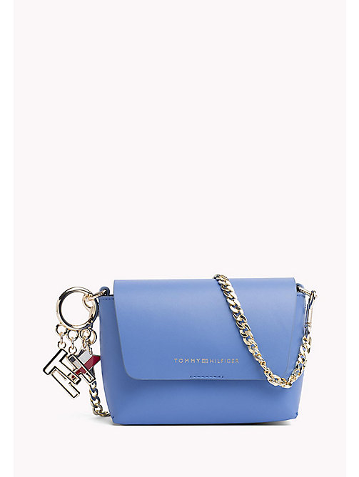 TOMMY HILFIGER Leather Cross Body Bag - REGATTA/ TOMMY NAVY - TOMMY HILFIGER Crossbody Bags - main image