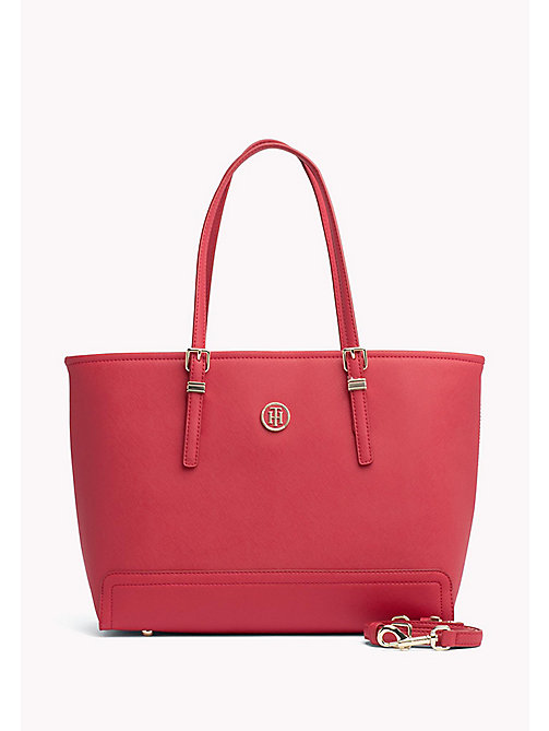 TOMMY HILFIGER Medium Tote - TOMMY RED - TOMMY HILFIGER Tote Bags - main image