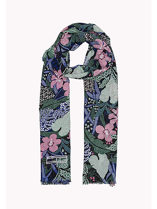 TOMMY JEANS Floral Scarf - FLOWER MIX - TOMMY JEANS Tommy Jeans Accessories - detail image 1