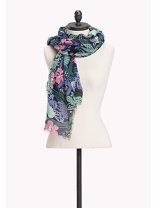 TOMMY JEANS Floral Scarf - FLOWER MIX - TOMMY JEANS Tommy Jeans Accessories - main image